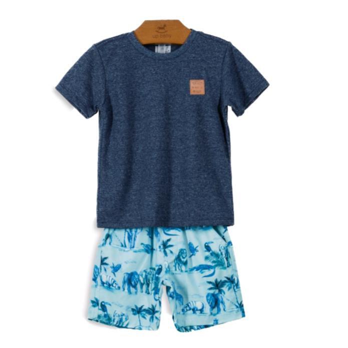Conjunto Safari Azul