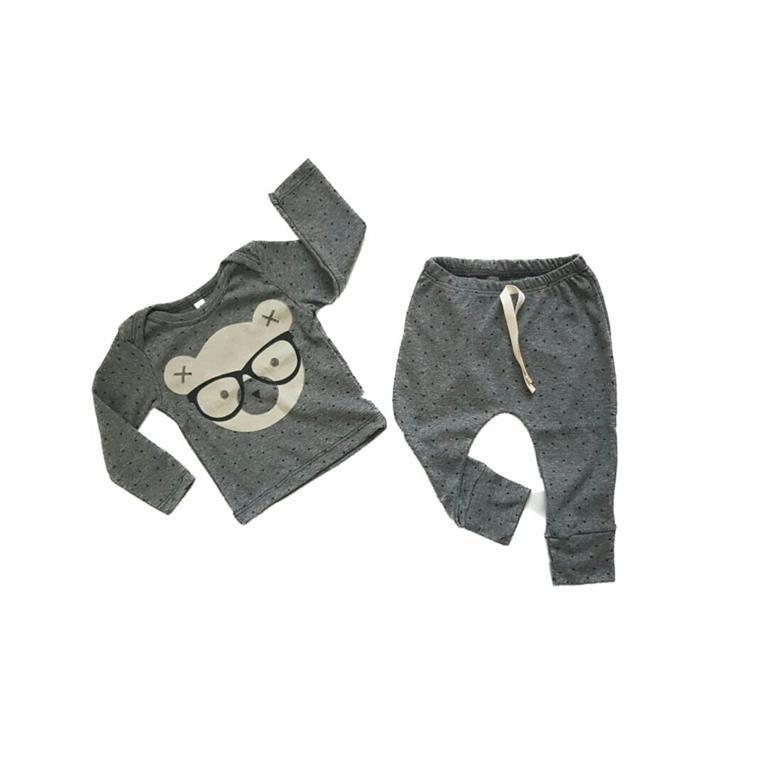 Conjunto Urso Geek