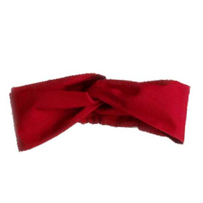 Faixa Turbante Vermelha