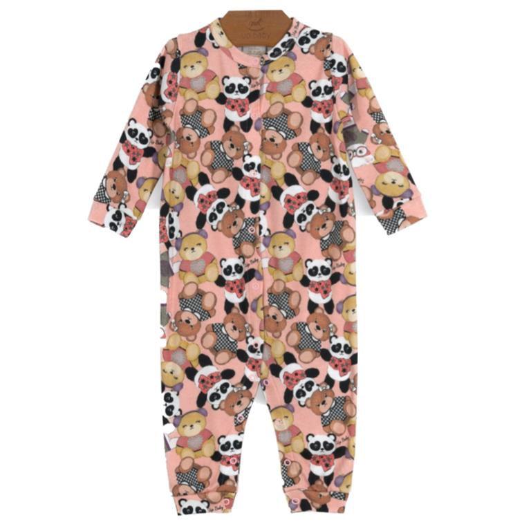 Macacão Longo Ursinhas Bebê