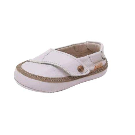 Sapato Couro Branco/ Castor