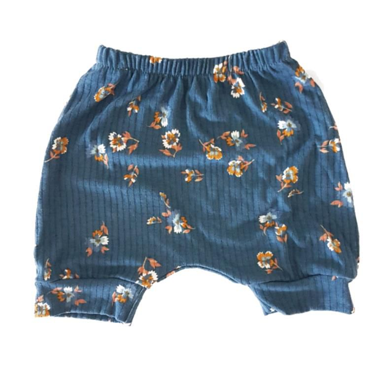 Short Saruel Floral Azul