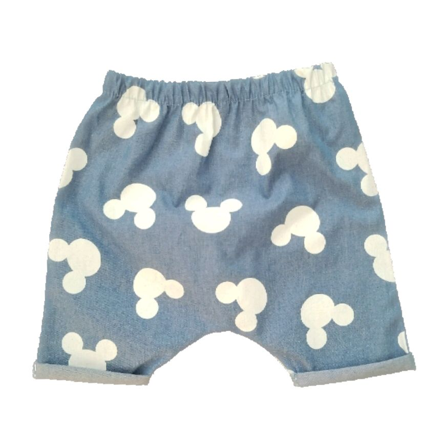Short Saruel Jeans Mickey
