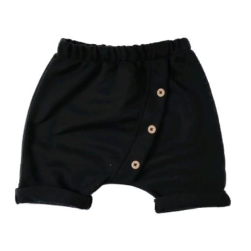Short Saruel Moletinho Black