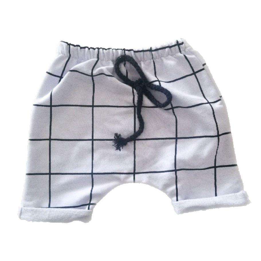 Short Saruel Quadriculado