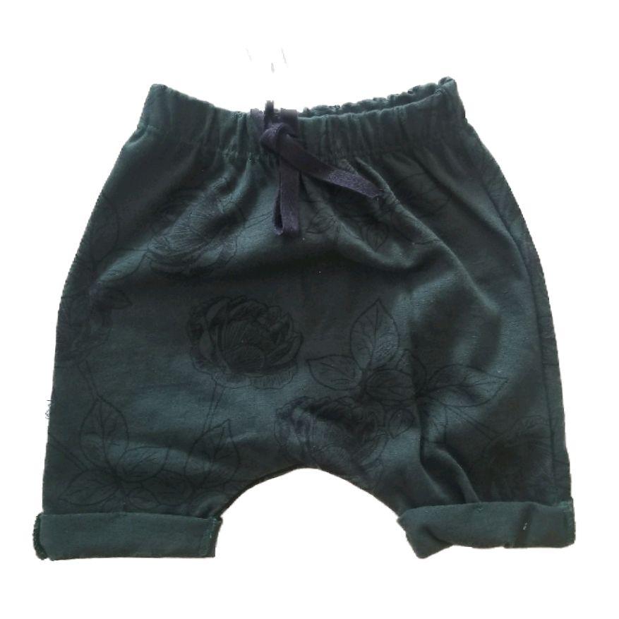 Short Saruel Verde Escuro