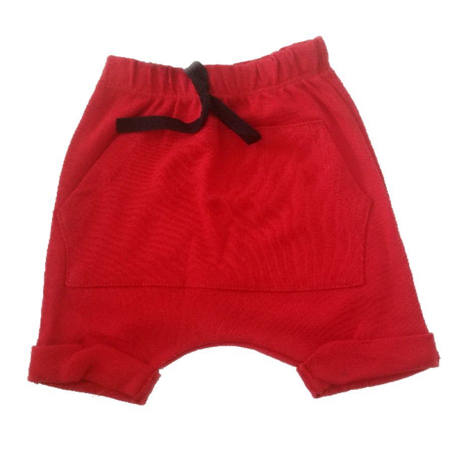 Short Saruel Vermelho