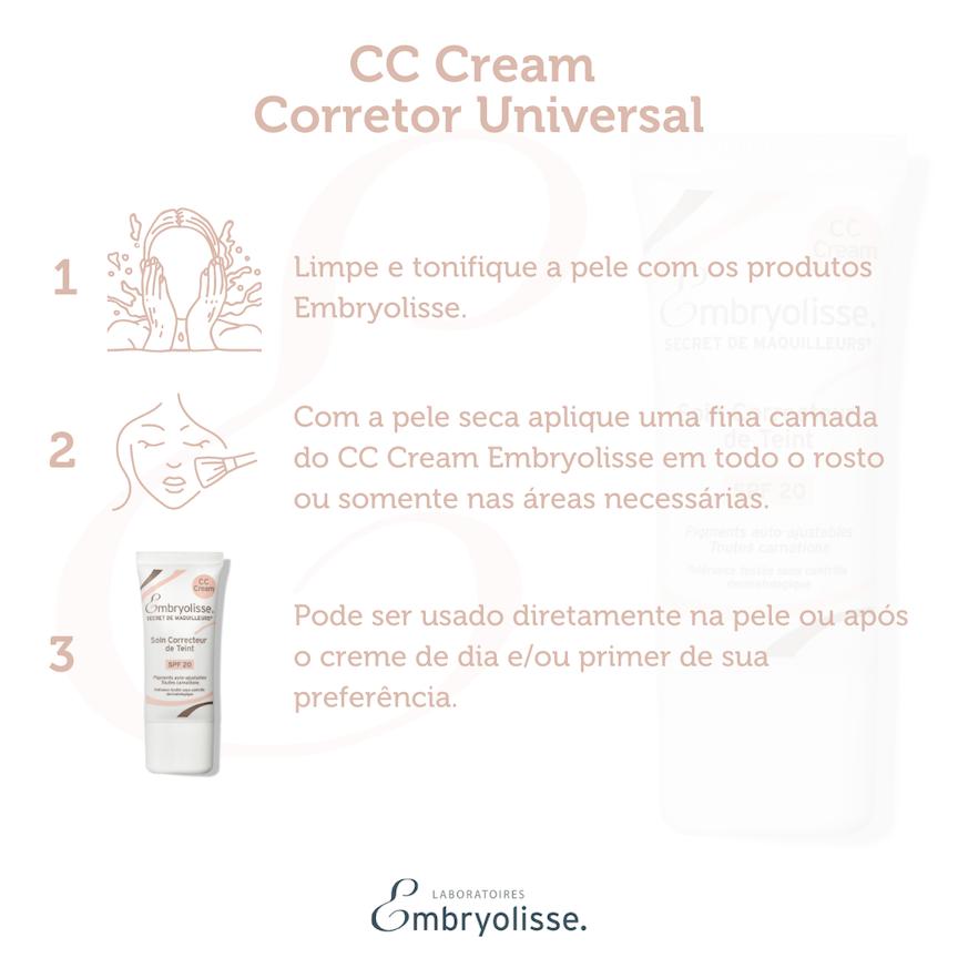 CC Cream Embryolisse - Corretor Universal 30ml