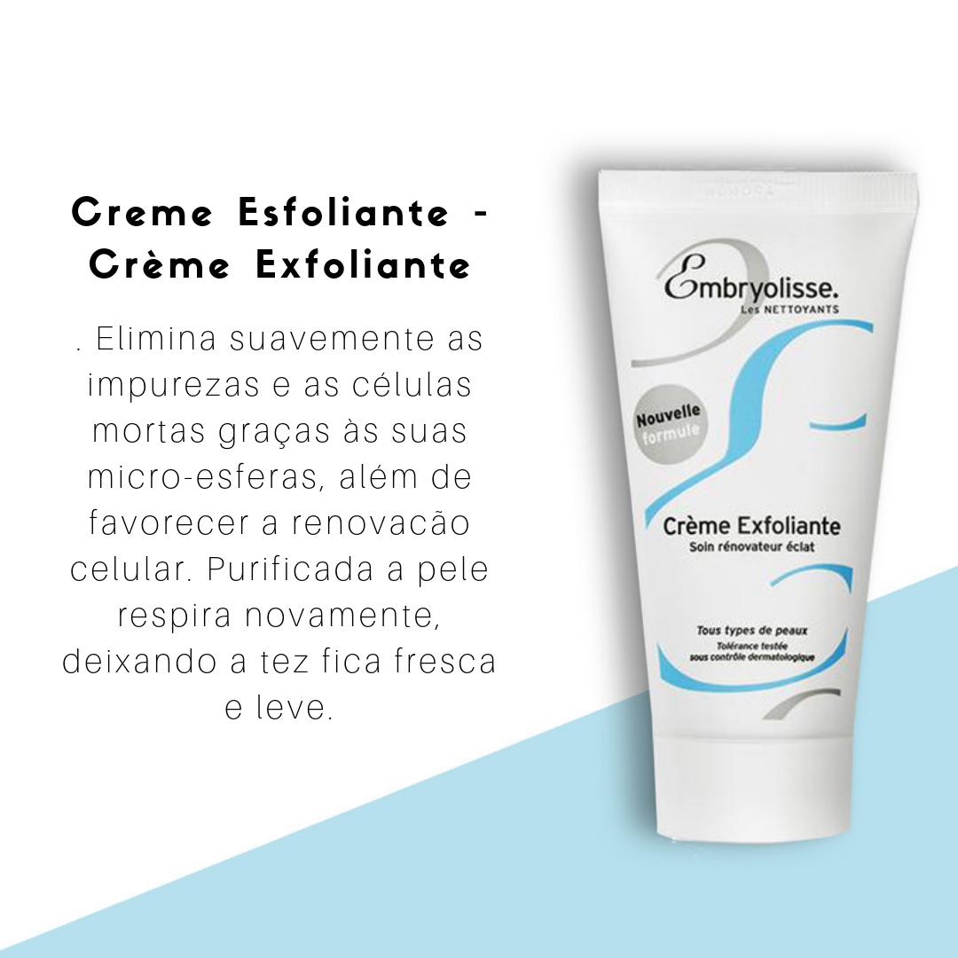 Creme Esfoliante - Crème Exfoliante
