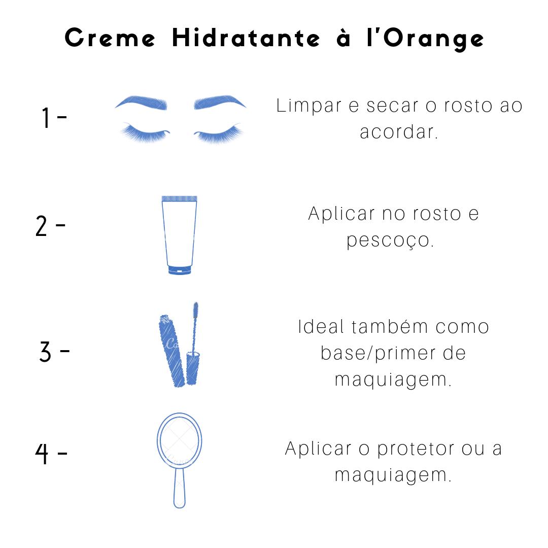 Creme Hidratante a l'Orange