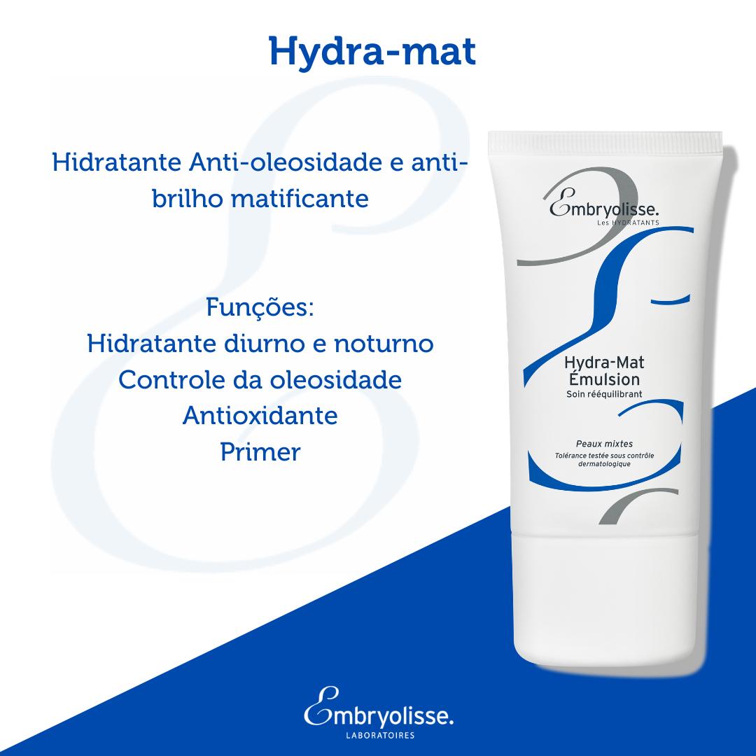 Hydra Mat Embryolisse - Hidratante Anti-oleosidade e anti-brilho Matificante 40ml