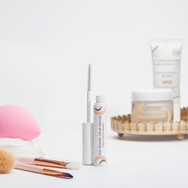 """Kit """"Dia Internacional das Mulheres"""" - Hidratante a l'Orange +Stick protetor reparador Labial + Soin Booster Cilios e sobrancelhas"""