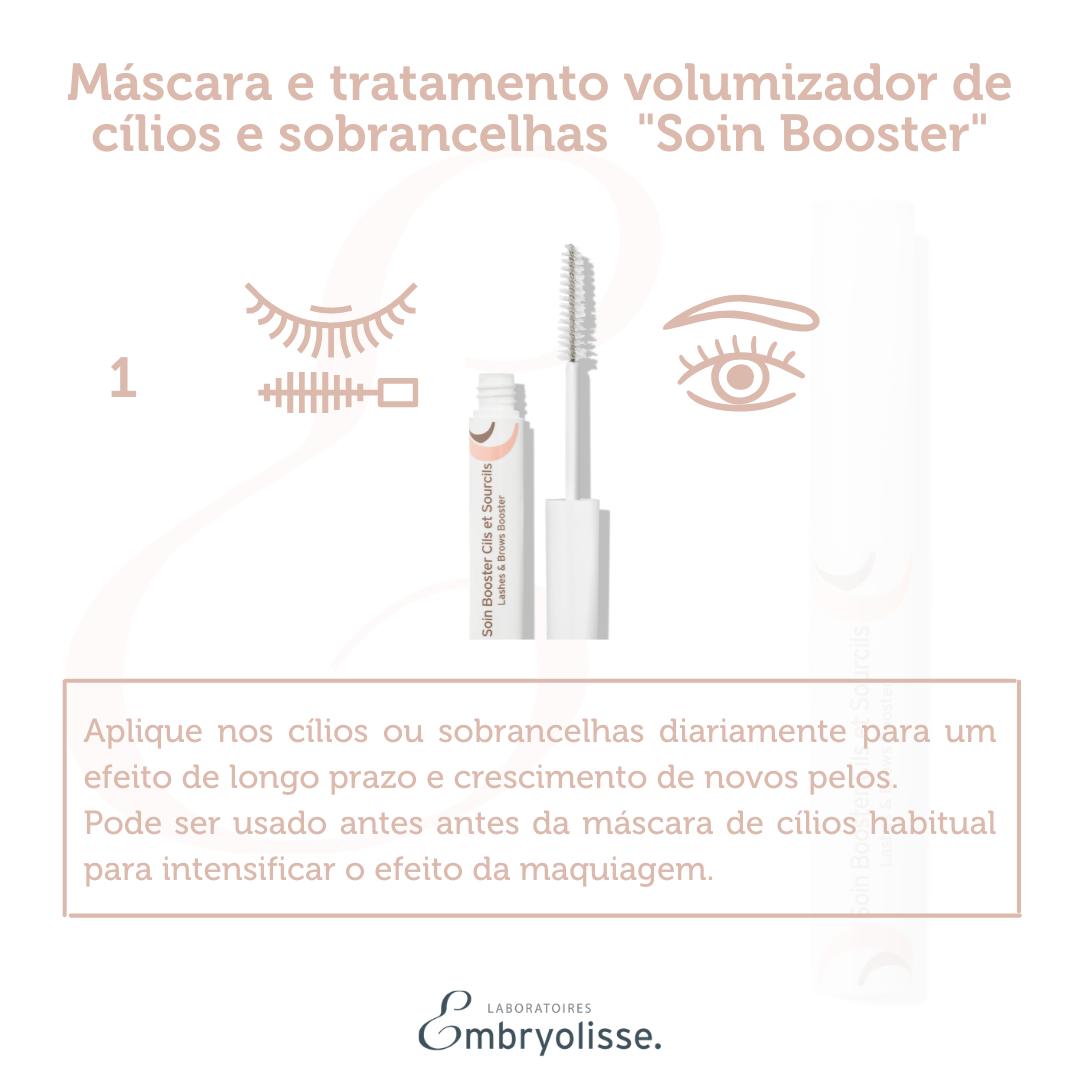 """Máscara e tratamento volumizador de cílios e sobrancelhas Embryolisse """"Soin Booster cils et sourcils"""" 6,5ml"""