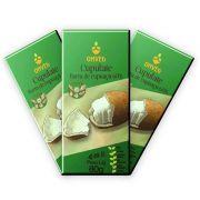 3 un. Cupulate 60% Chocolate de Cupuaçu 80g Onveg