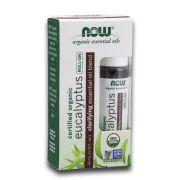 Blend de Óleo Essencial Orgânico de Eucalipto Eucalyptus Roll-On 10ml NOW