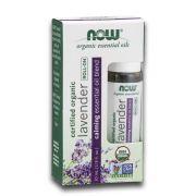Blend de Óleo Essencial Orgânico de Lavanda Lavender Roll-On 10ml NOW
