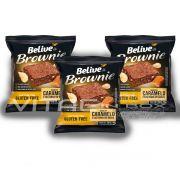 Brownie Caramelo e Castanhas do Brasil Sem Glúten Sem Lactose 03x40g - Belive