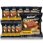 Brownie Caramelo com Castanha do Brasil Sem Glúten Sem Lactose 10x40g - Belive