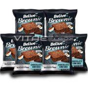 Brownie Chocolate e Coco Zero Açúcar 06x40g - Belive