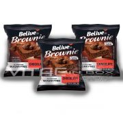 Brownie Chocolate Zero Açúcar 03x40g - Belive