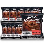 Brownie Chocolate Zero Açucar Sem Glúten Sem Lactose 10x40g - Belive