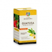 Cha Guayusa Limão e Gengibre Energia da Amazonia 25 Saches Viva Regenera