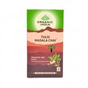 Chá Tulsi Masala Chai 25 saches Organic India