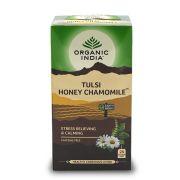 Chá Tulsi Mel e Camomila 25 saches - Organic India