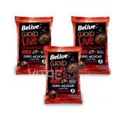 Chocolive 70% Cacau Zero Açucar  Sem Glúten Sem Lactose 3x35g - Belive