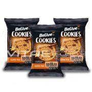 Cookie Baunilha com Gotas de Chocolate Sem Glúten Sem Lactose 03x34g - Belive
