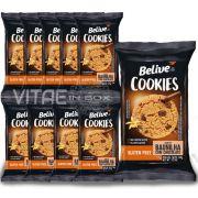 Cookie Baunilha com Gotas de Chocolate Sem Glúten Sem Lactose 10x34g - Belive