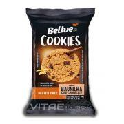 Cookie Baunilha com Gotas de Chocolate Sem Glúten Sem Lactose 34g - Belive