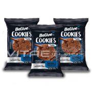 Cookie Chocolate Zero Açúcar Sem Glúten Sem Lactose 03x34g - Belive