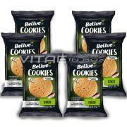 Cookie Coco Zero Açúcar Sem Glúten Sem Lactose 06x34g - Belive