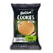 Cookie Coco Zero Açúcar Sem Glúten Sem Lactose 34g - Belive
