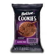 Cookie Double Chocolate Sem Glúten Sem Lactose 34g - Belive