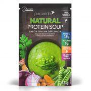 Natural Protein Soup Ervilha Defumada 10 Saches de 35g Sopa Proteica - Puravida