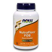 NutraFlora® FOS 113g Fibras Alimentares Prebióticas NOW