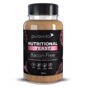 Nutritional Yeast Bacon Free Levedura Nutricional Tempero Natural 120g - Puravida