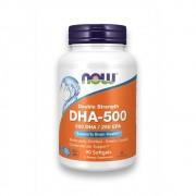 Ômega 3 DHA 500mg EPA 250mg 90 cápsulas NOW