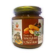 Pasta de Amendoim Orgânico com Chocolate 210g Onveg