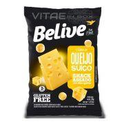 Snack Queijo Suiço Sem Glúten Sem Lactose 35g - Belive