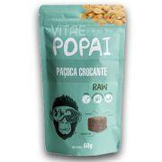 Snack RAW sabor Paçoca Crocante 60g - Popai - Alimento Cru