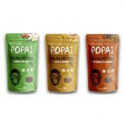 Snack Vegan Protein 3 Sabores 3un. de 50g - Popai