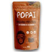 Snack Vegan Protein sabor Tapi Brownie de Alfarroba 50g - Popai