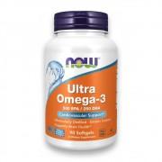 Ultra Ômega 3 500 EPA 250 DHA 90 cápsulas NOW