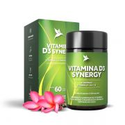 Vitamina D3 Synergy D3, K2, A, 60 cápsulas - Puravida