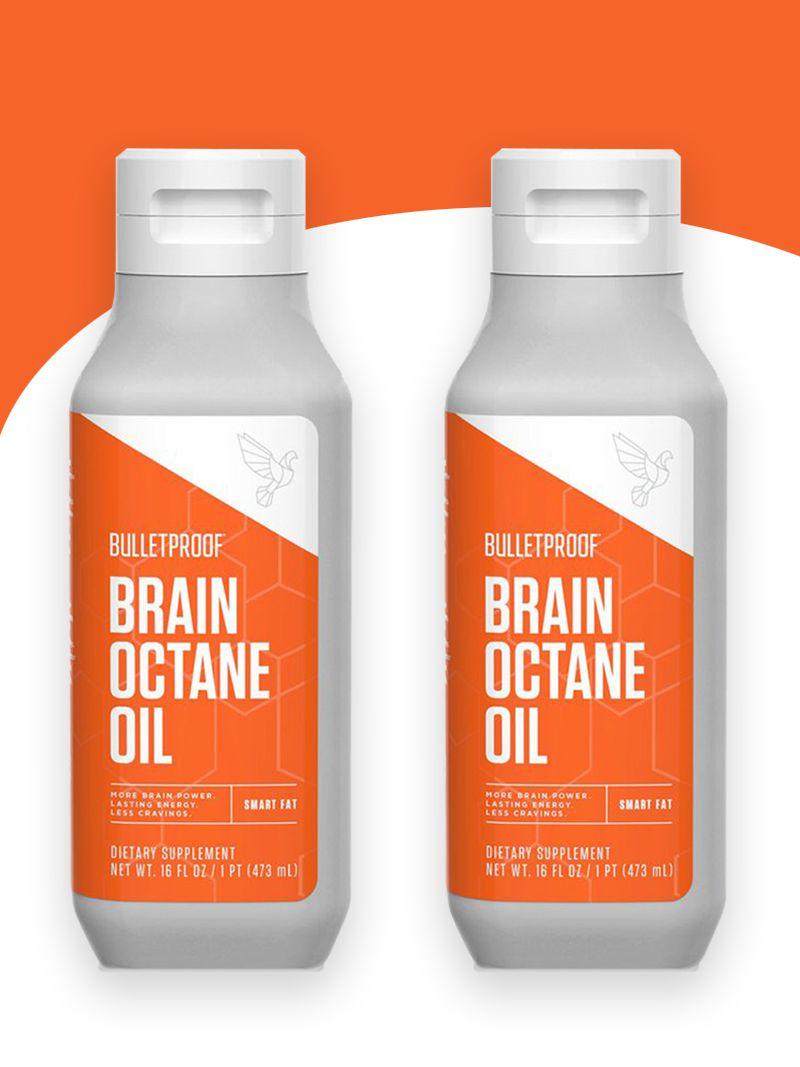 2 Brain Octane Oil MCT Ácido Caprilico 473ml Bulletproof