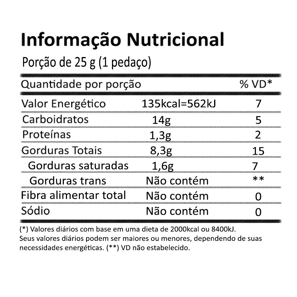 3 un. Chocolate Vegano Cupulate 60% com Cupuaçu Cristalizado 80g Onveg