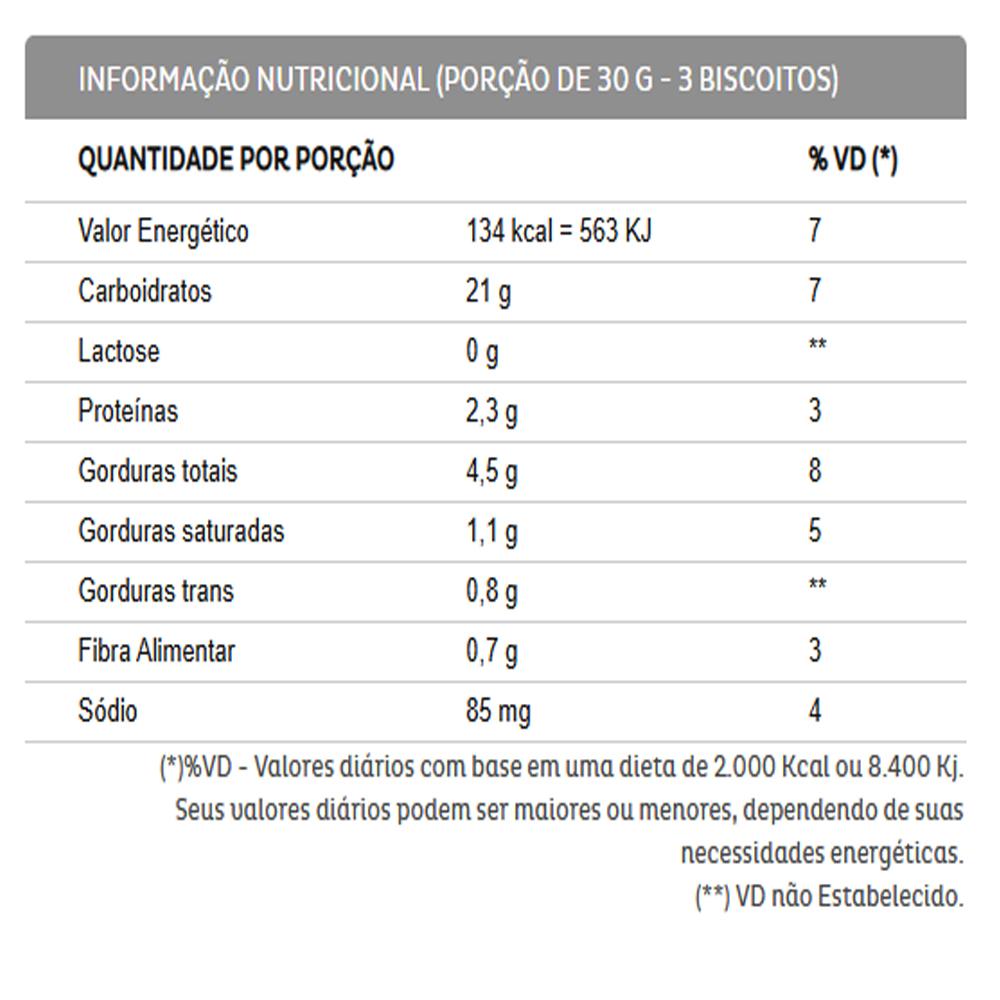 3un Biscoito Recheado Diversão Napolitano Sem Lactose 115g Liane